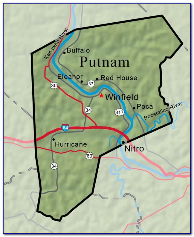 Map Of Putnam County Ny