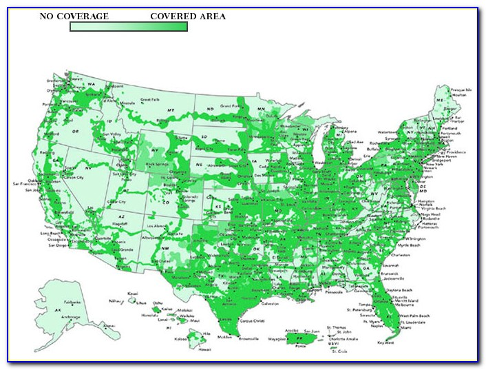 Map Of Sprint Cell Phone Coverage