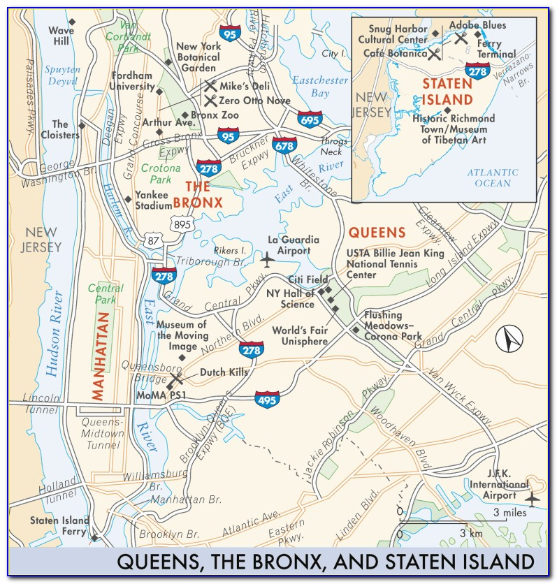 Map Of The Bronx River