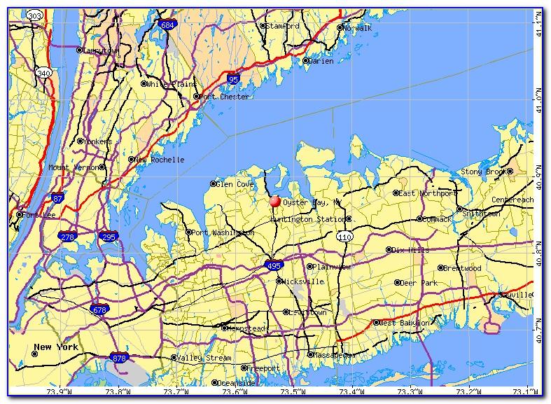 Map Oyster Bay Ny