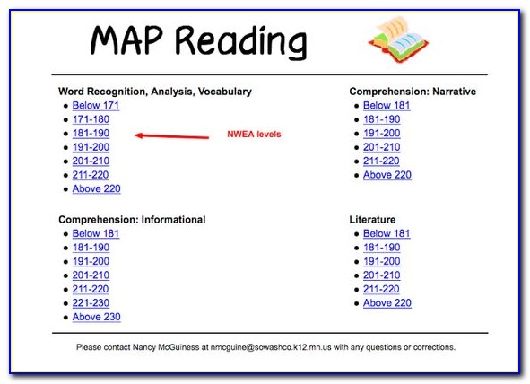 Map Practice Test 3rd Grade Reading