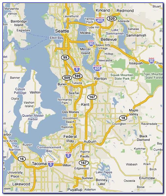 Map Puget Sound Wa