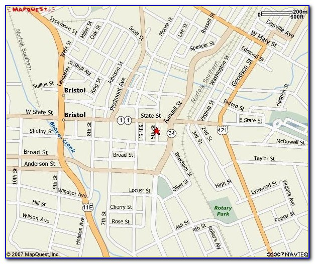 Mapquest Driving Directions Without Map