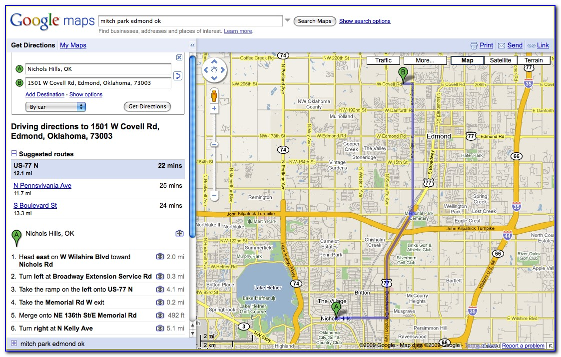Maps And Driving Directions Google