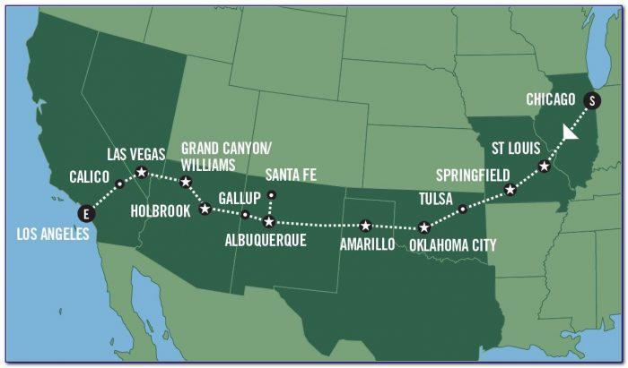 Maps Historic Route 66