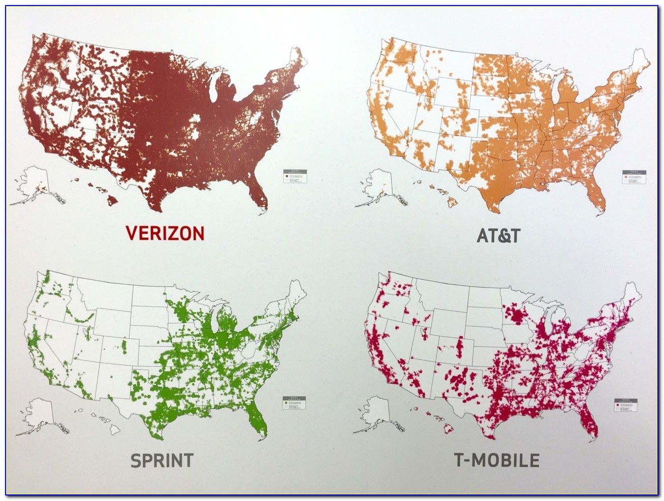 Maps Of Cell Phone Coverage