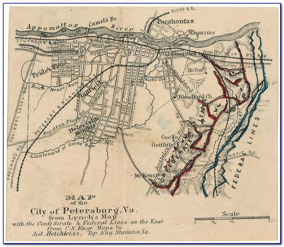 Maps Of Civil War Battles In Georgia