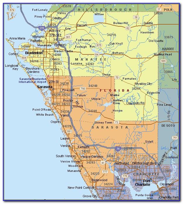 Maps Sarasota Florida