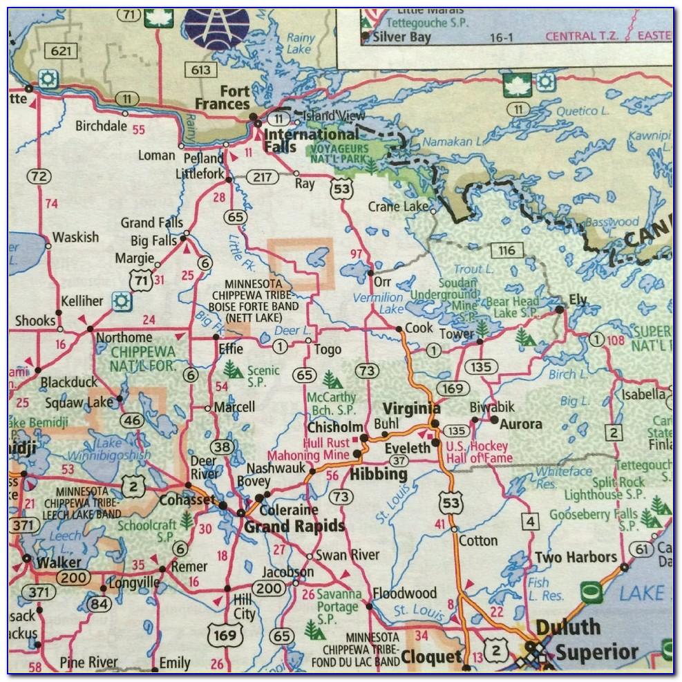 Mcnally Road Map
