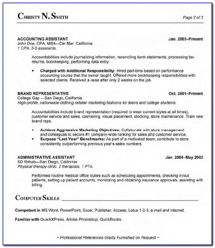 Medical Billing And Coding Resume No Experience