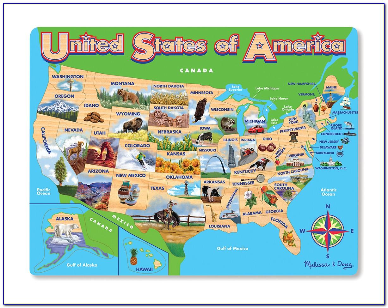 Melissa And Doug United States Puzzle