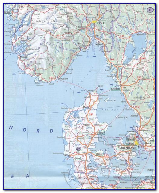 Michelin Europe Map 705