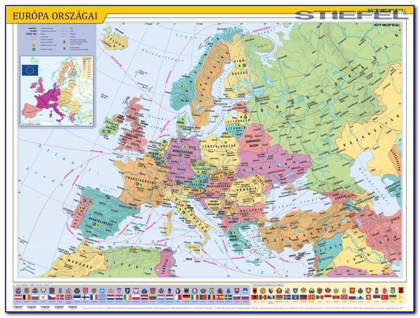 Michelin Europe Wall Map