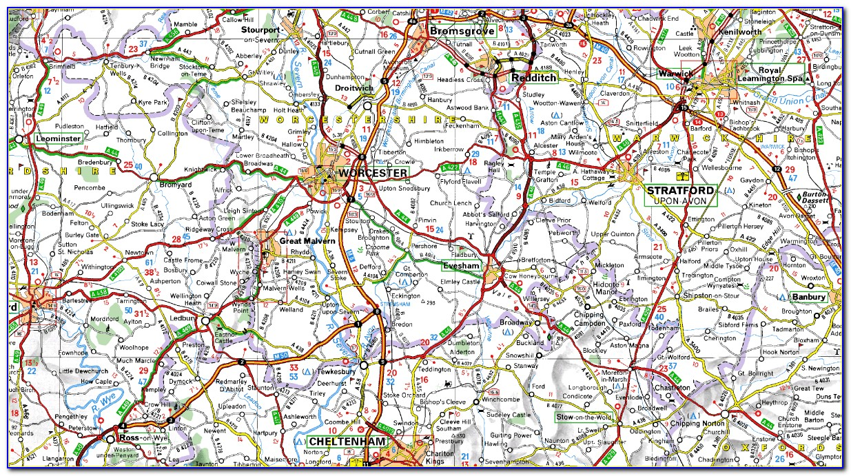 Michelin Maps And Guides Uk