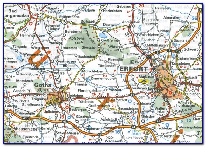Michelin Maps Germany 543