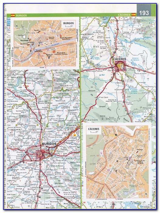 Michelin Maps Spain 442