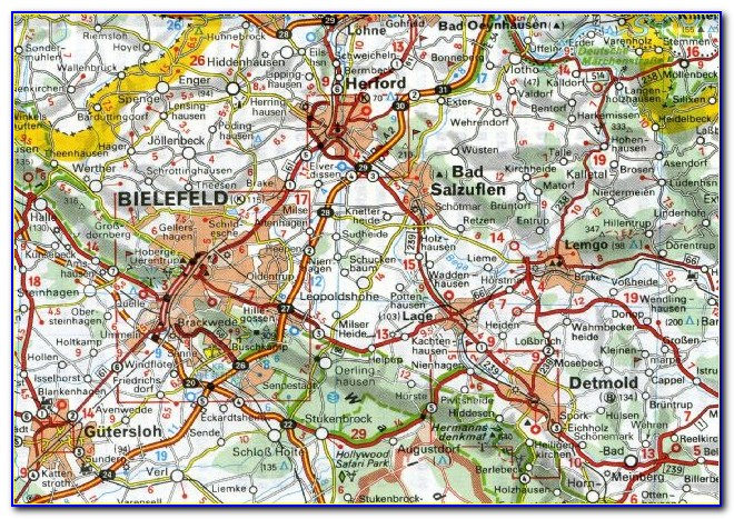 Michelin Regional Maps Germany