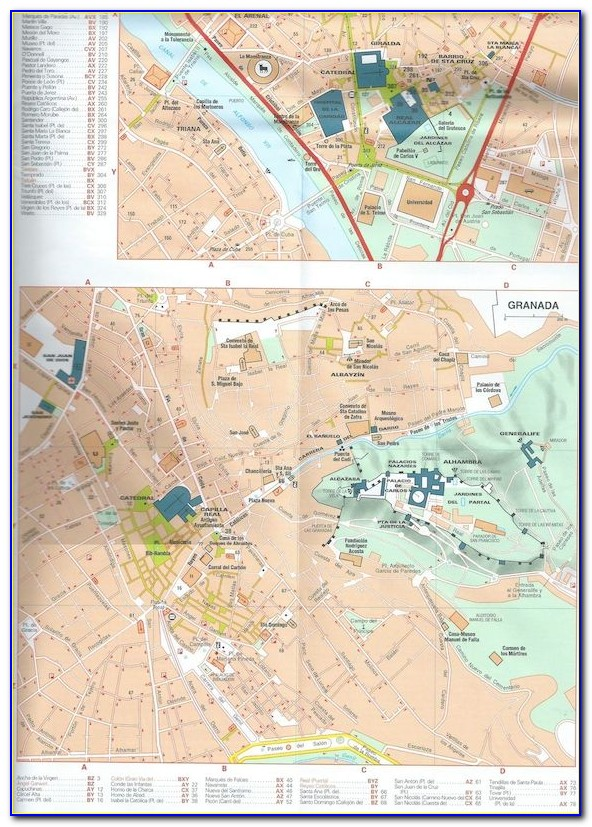 Michelin Route Maps Spain