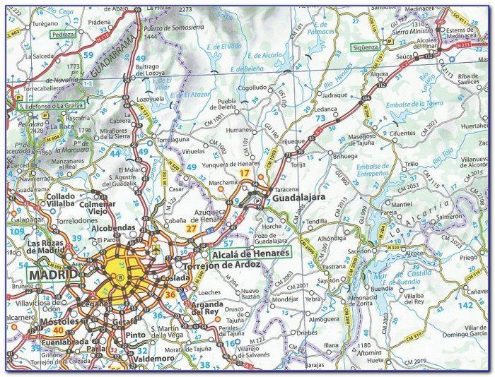 Michelin Spain Maps