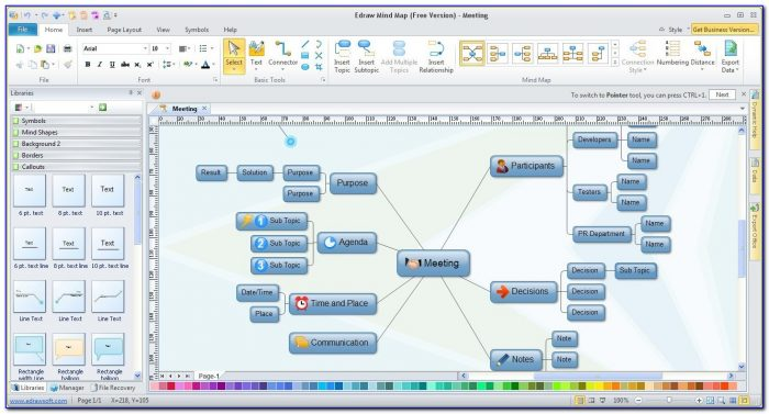 Mind Map Mind Mapping Software