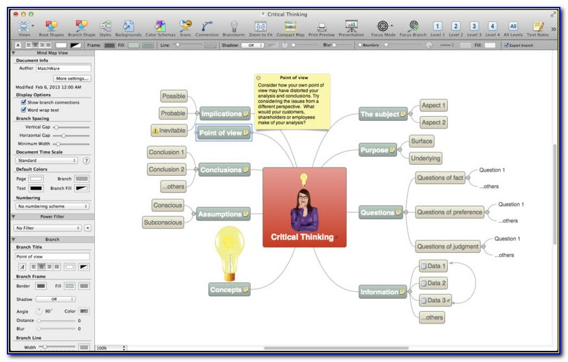 Mind Mapping Tool For Mac
