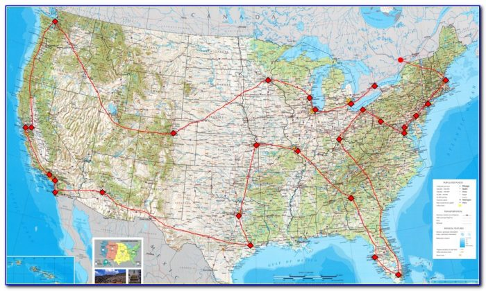 Mlb Stadium Travel Map