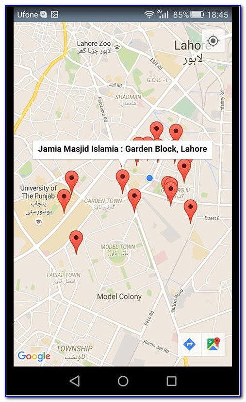Mobile Phone Tracker With Map