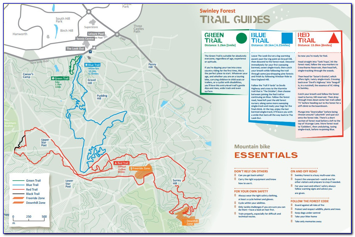 Mountain Bike Trail Maps Victoria