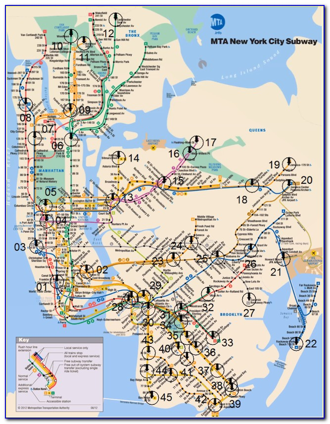 Mta Bus Maps New York City