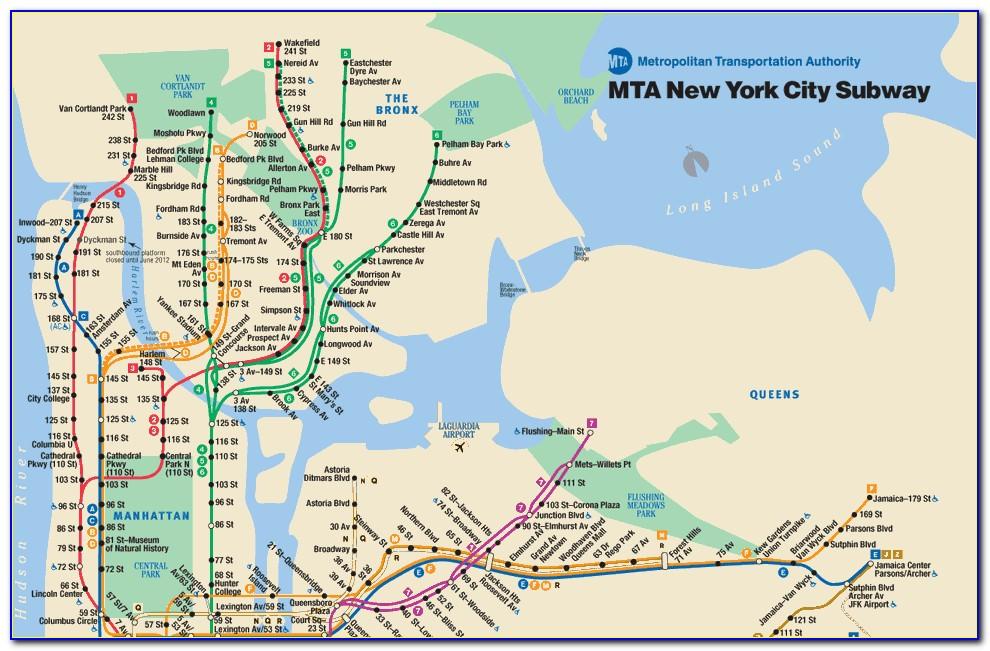 Mta Map New York City