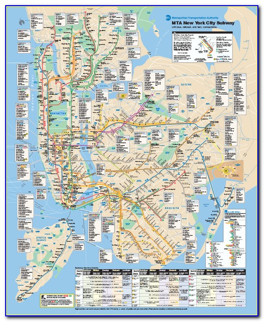 Mta New York Neighborhood Maps