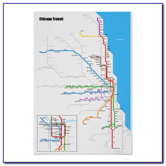 Mta Subway Map Poster