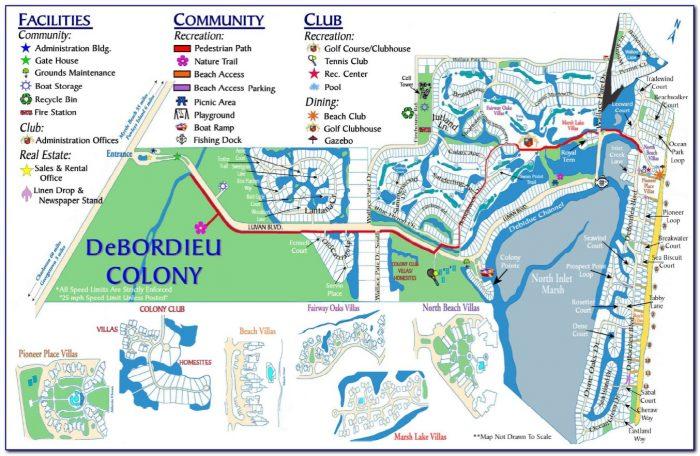 Myrtle Beach Mini Golf Map
