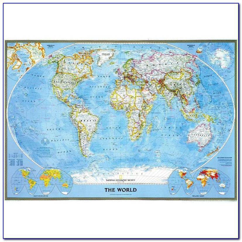 National Geographic Maps Of The World