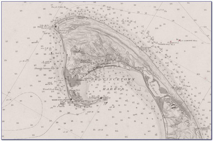 Nautical Chart Cape Cod Canal