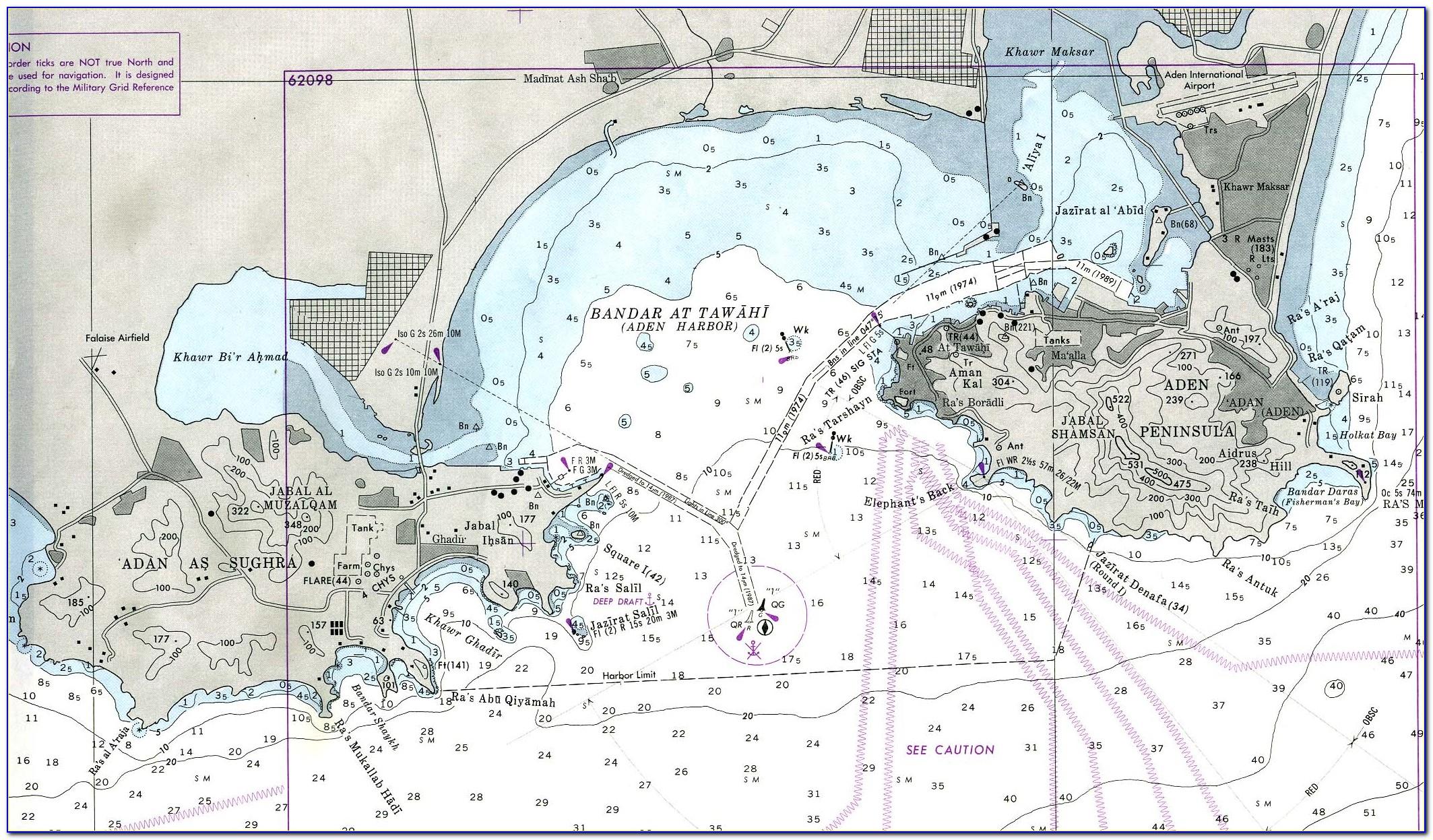 Navigational Charts Maps