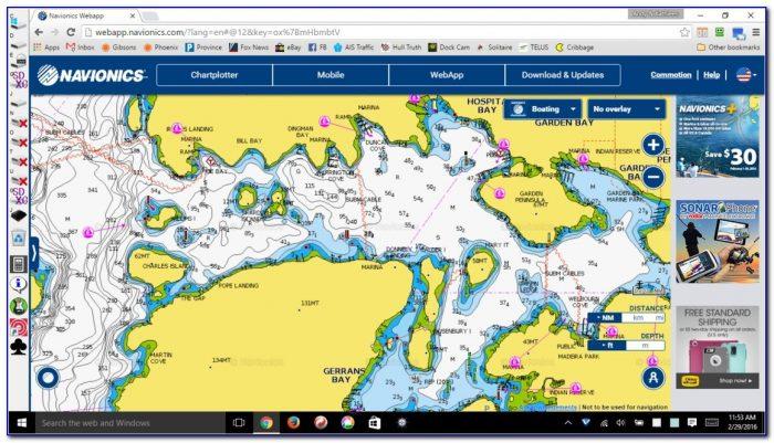 Navionics Lake Maps For Garmin