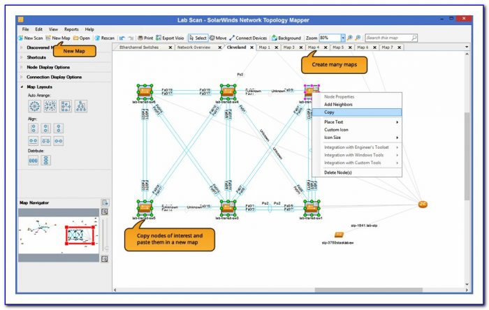 Network Map Tool Linksys