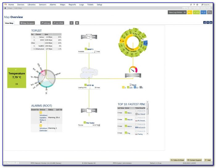 Network Map Tool Online