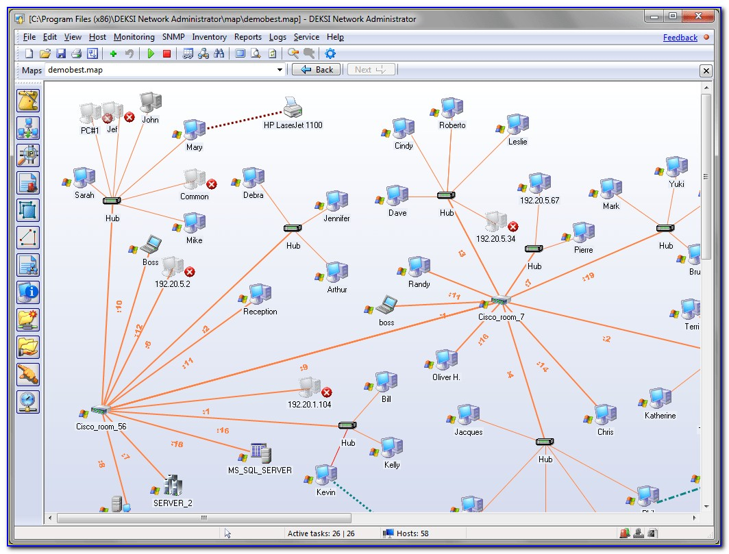 Network Mapping Software Freeware