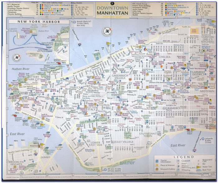 New York City Pop Out Map