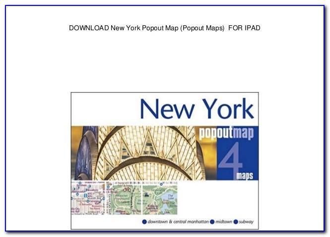 New York Pop Up Map