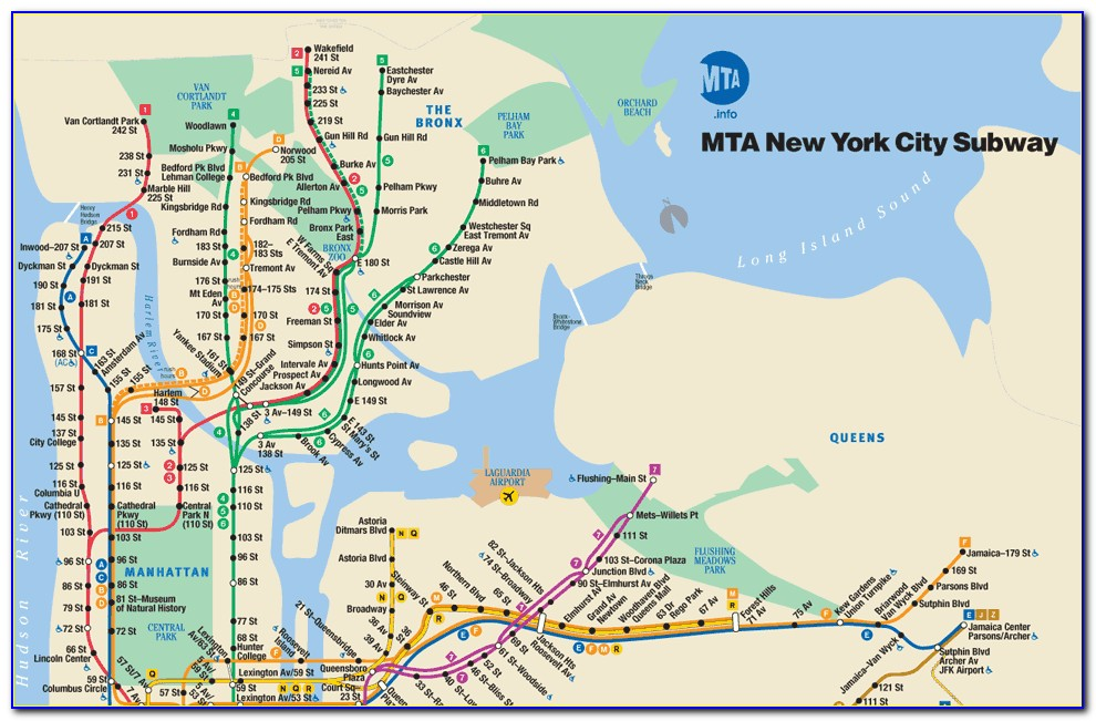 New York Subway Mta Map App