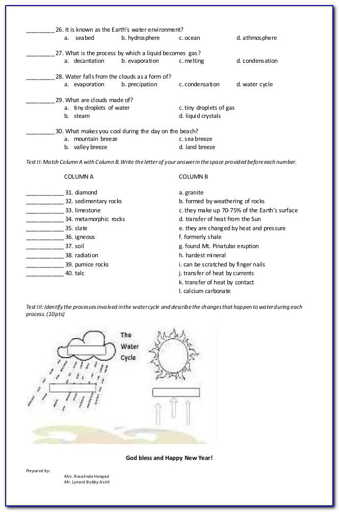 Nwea Map Practice Test 3rd Grade