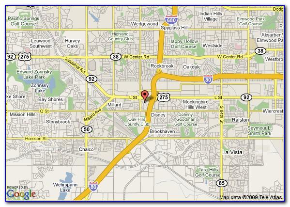 Omaha Old Market Hotels Map