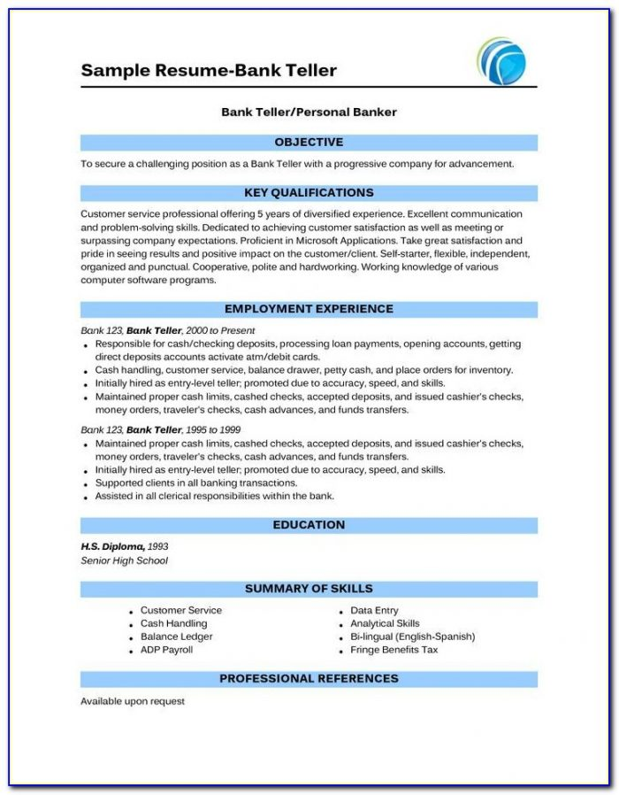 Online Free Resume Builder For Freshers