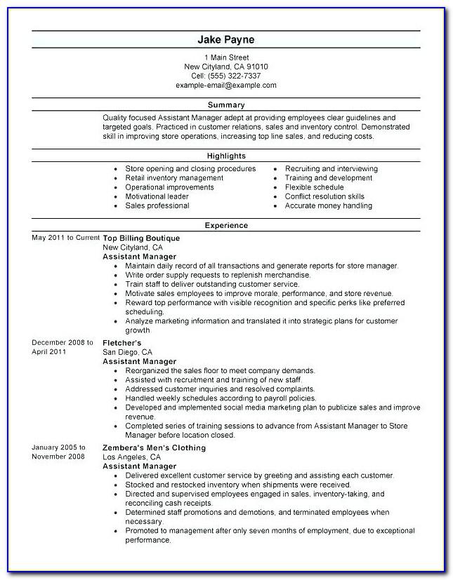 Online Resume Builder Login