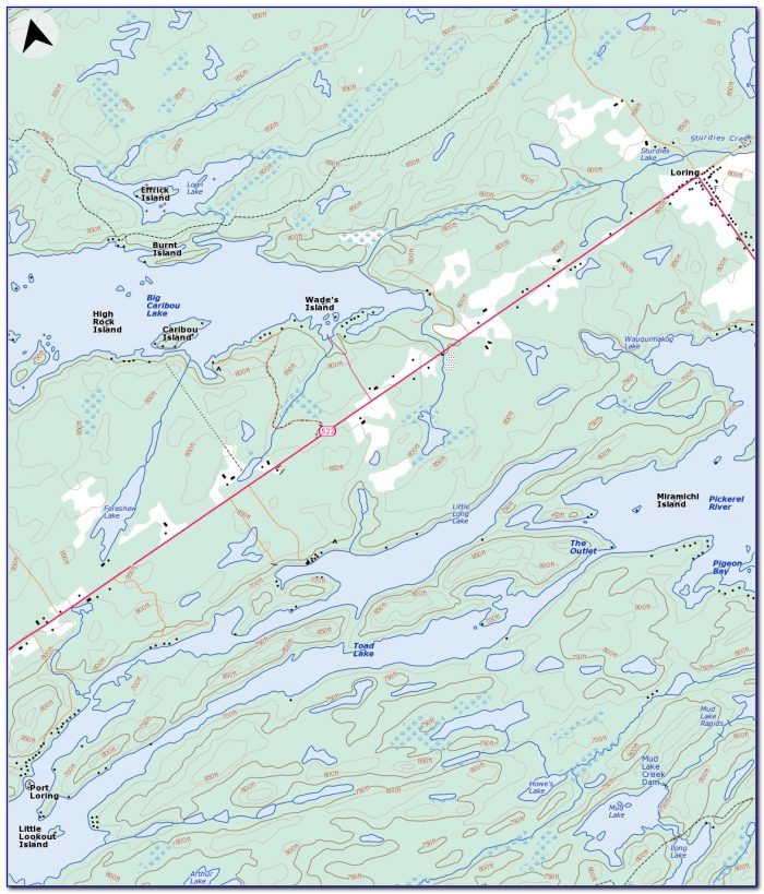Ontario Fishing Lakes Maps