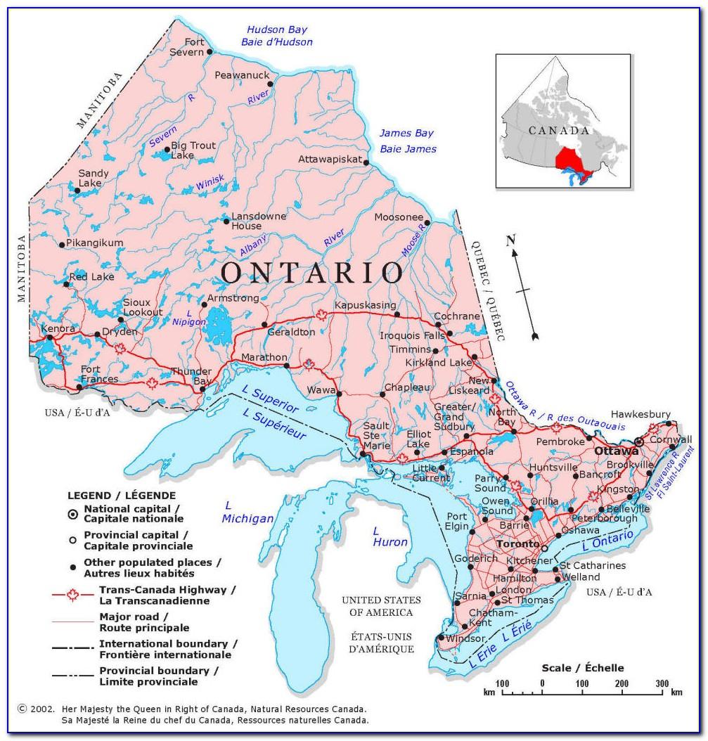 Ontario Fishing Map App
