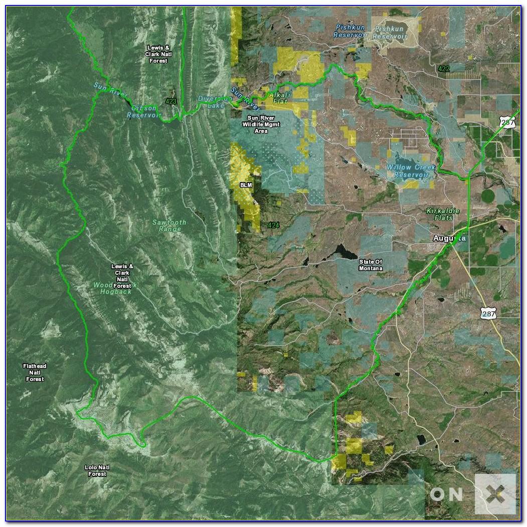 Onx Hunt Maps Utah